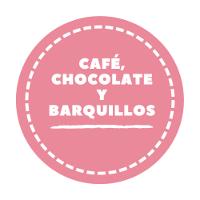 Café, chocolate y barquillos